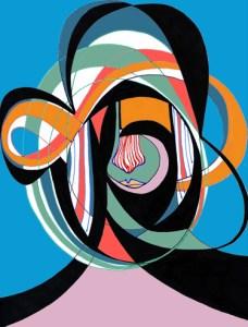Music - Free My Mind (After LTJ Bukem & MJ Cole)   Pen / Ink / iPad   International Jazz Day Poster Design   2016
