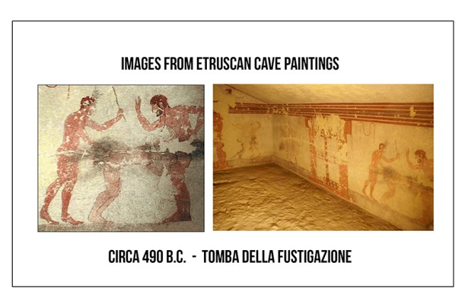 etruscan cave