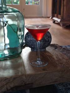 Natasha's cocktail of choice...