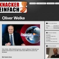 Website der Knacker Einfach Medienproduktion GmbH