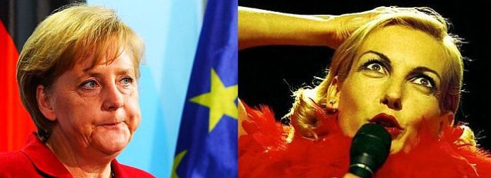 Ute Lemper Angela Merkel So does Ute Lemper approve of Angela Merkel? Nein!