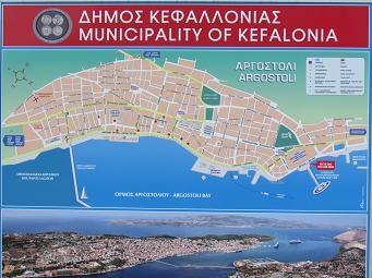 map of argostoli