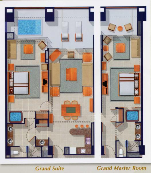 Floor Plans Grand Mayan Voted The Best Resorts In Latin