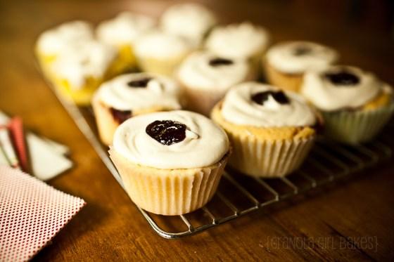 Raspberry Swirl cupcakes 10