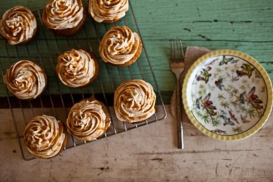 Spiced Eggnog Cupcakes ::GranolaGirlBakes 3