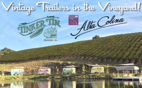 Trailers in the Vineyard