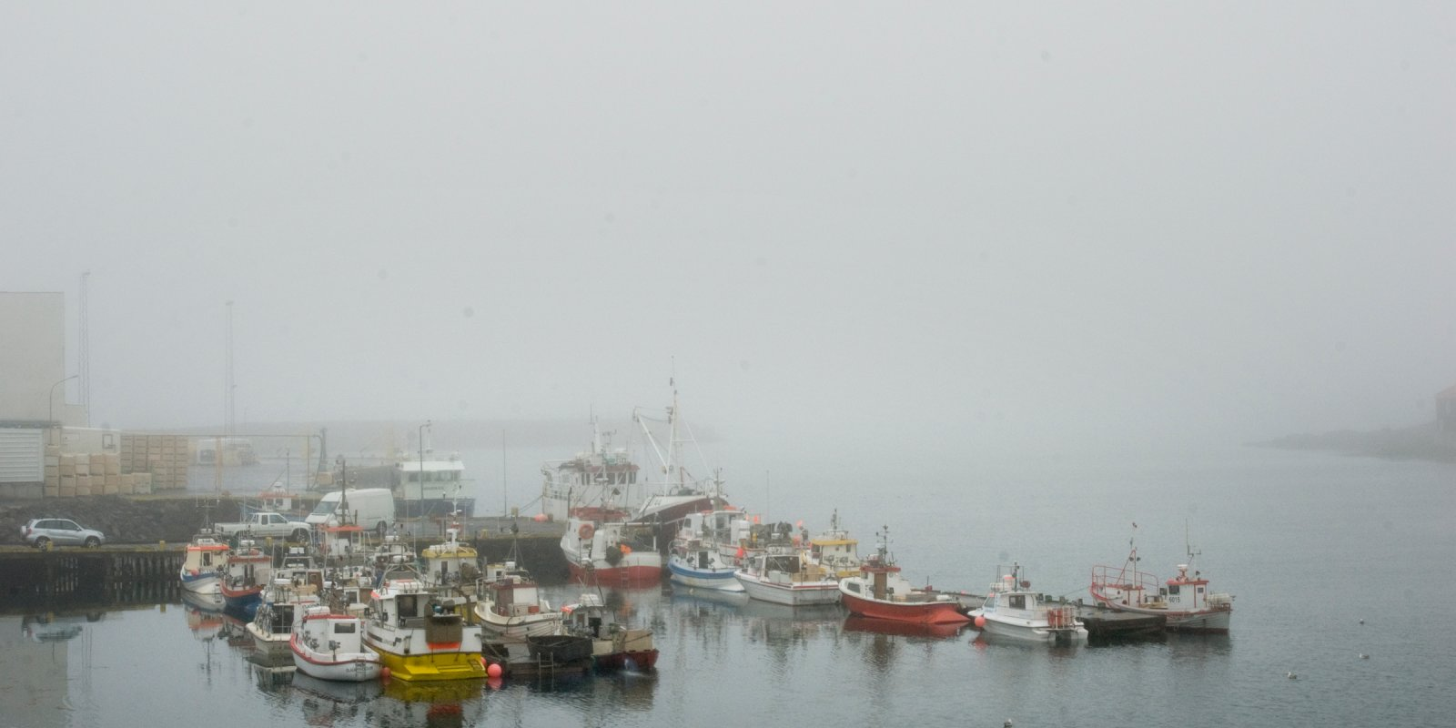 Djúpivogur, A Foggy Heaven