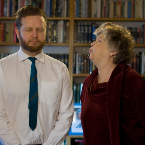 Great Expectorations: Ragnar Kjartansson's Mother Spits In His Face Every Five Years