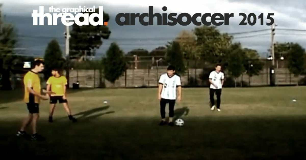 Promo image for ArchiSoccer Grand Final 2015
