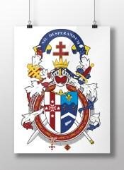Knights Templar Grand Master Banner
