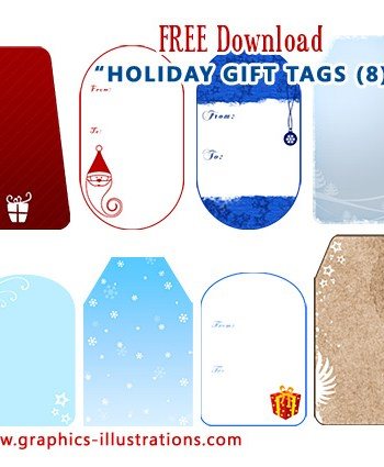 Holiday Gift Tags – Free Download