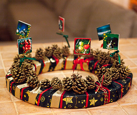 Do It Yourself Christmas Wreath