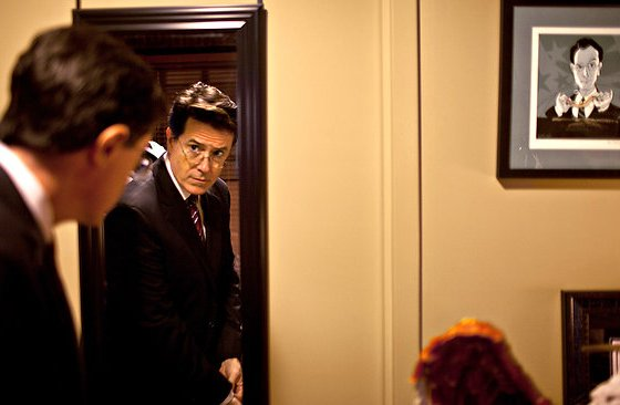 Stephen Colbert dressing room