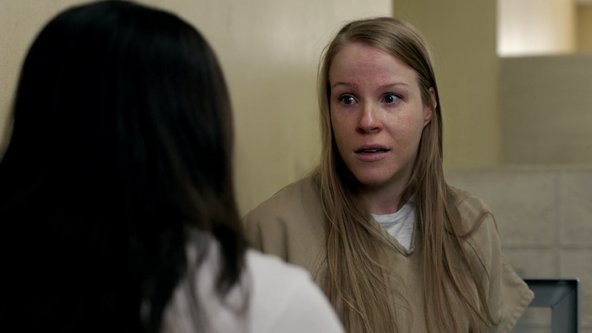 "Emma Myles in ""Orange Is the New Black."""