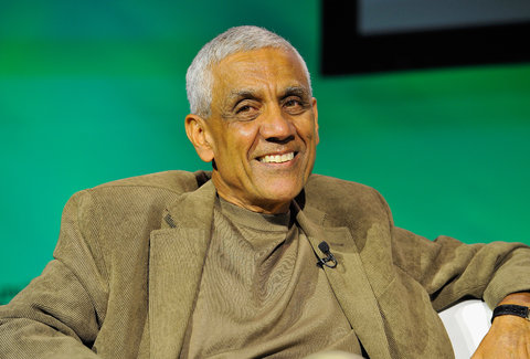 Vinod Khosla, a venture capitalist, is backing a mobile search engine called Relcy.