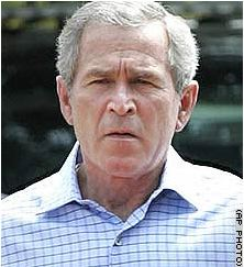 Today may not be a good one for Dubya.