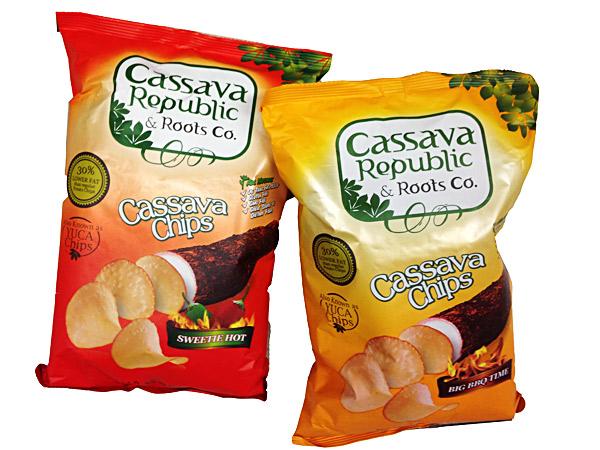 gluten-free papa cassava chips