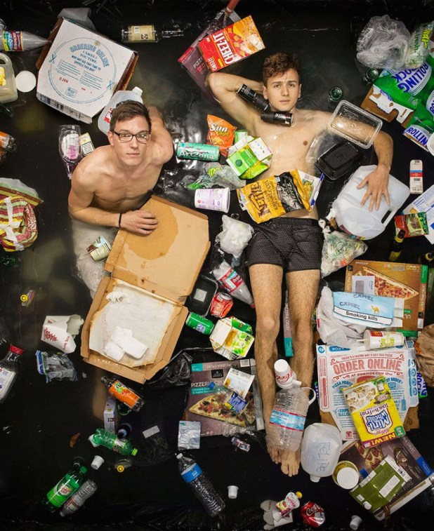 7 Days of Garbage by Gregg Segal