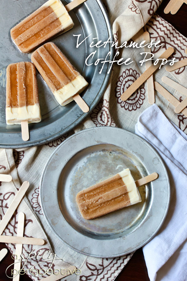 vietnamese coffee popsicle