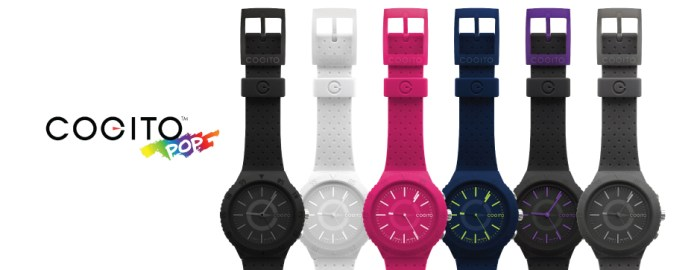The Cogito Pop comes in 6 attractive colours.