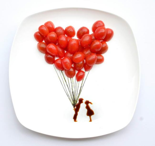 tomato balloons hong yi