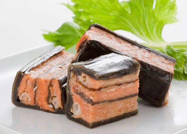 Salmon Wrapped in Kelp from Rakuten Japan gourmet festival
