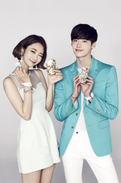 Kpop celebrities Lee Jong Suk and Koh Joon Hee