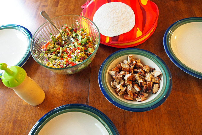 Want a neat trick for holding up soft tortillas? Skewer them with a ...
