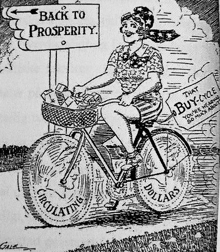 lady bike economy