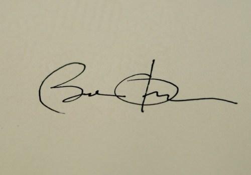 Obama signature