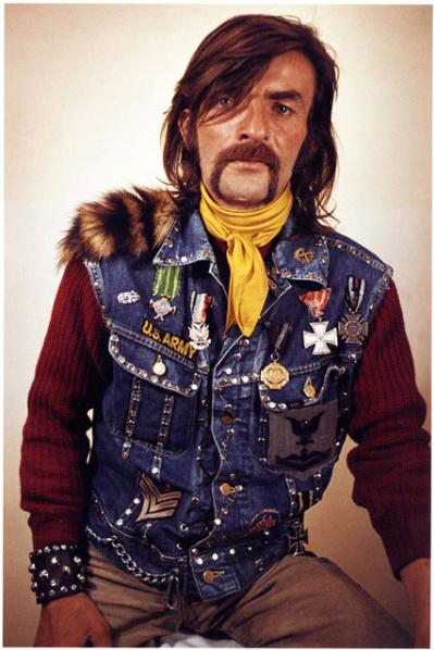 Weinberger mustache man