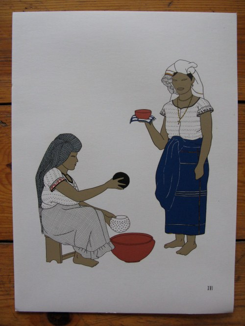 Mexican ladies 3, with bowl