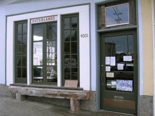 Outerlands- front door