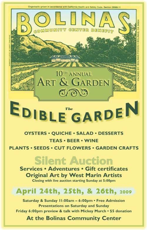 Art & Garden-Poster 2009