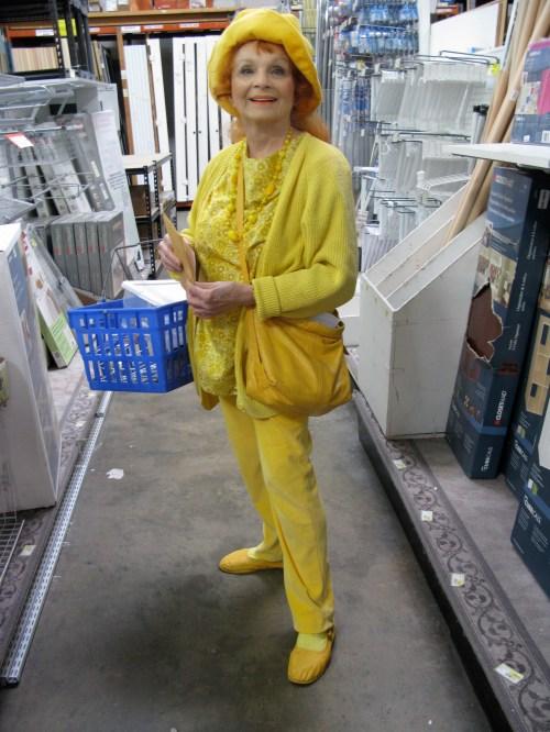 Judy in Full Yellow