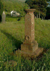 Sundial memorial at Longsleddale
