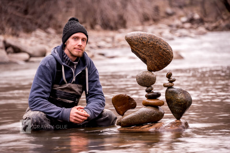 rock balancing nature Michael Grab photographie