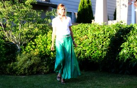A Really Green Skirt