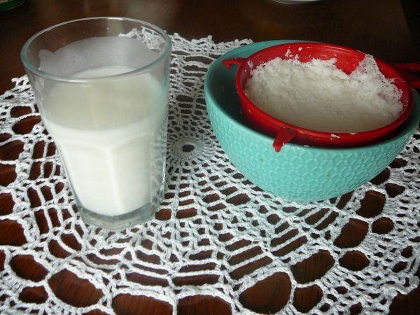 domowe mleczko kokosowe
