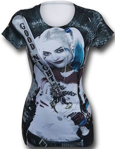 Suicide Squad Harley Quinn And Her Bat T-Shirt