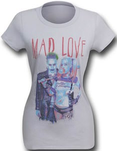 Harley Quinn And The Joker Mad Love T-Shirt