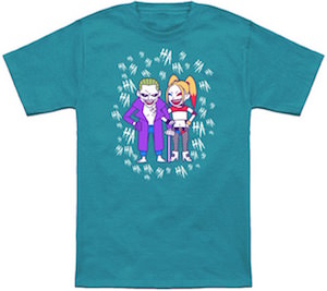 Harley Quinn And The Joker Crazy Squad T-Shirt