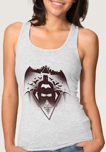 Fear The Batman Women's Tank Top