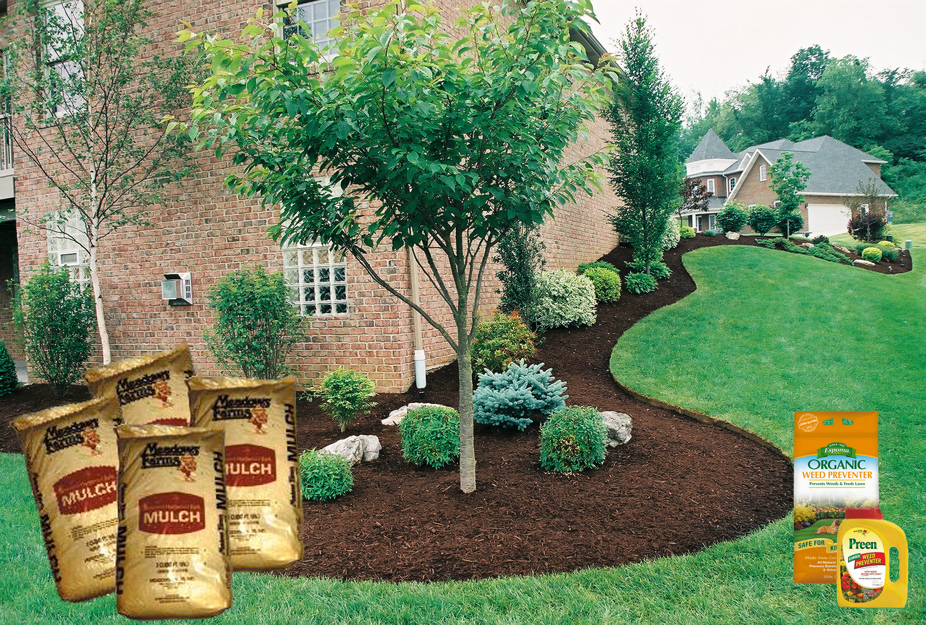 Special Plant Food Mulch Is Trouble Preen Weeds Preen Bulk Preen Weed Preventer Mulch Is Trouble Weeds Big Greenhouse Preen Weed Preventer houzz-03 Preen Weed Preventer