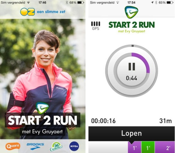Start 2 Run Evy Gruyaert