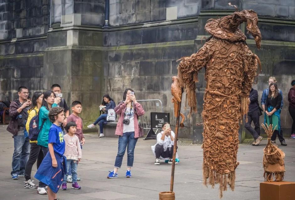 Street Performer, Edinburgh