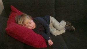 joe sleeping