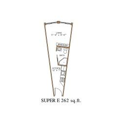 Small Crop Of Efficiency Apartment Floor Plan