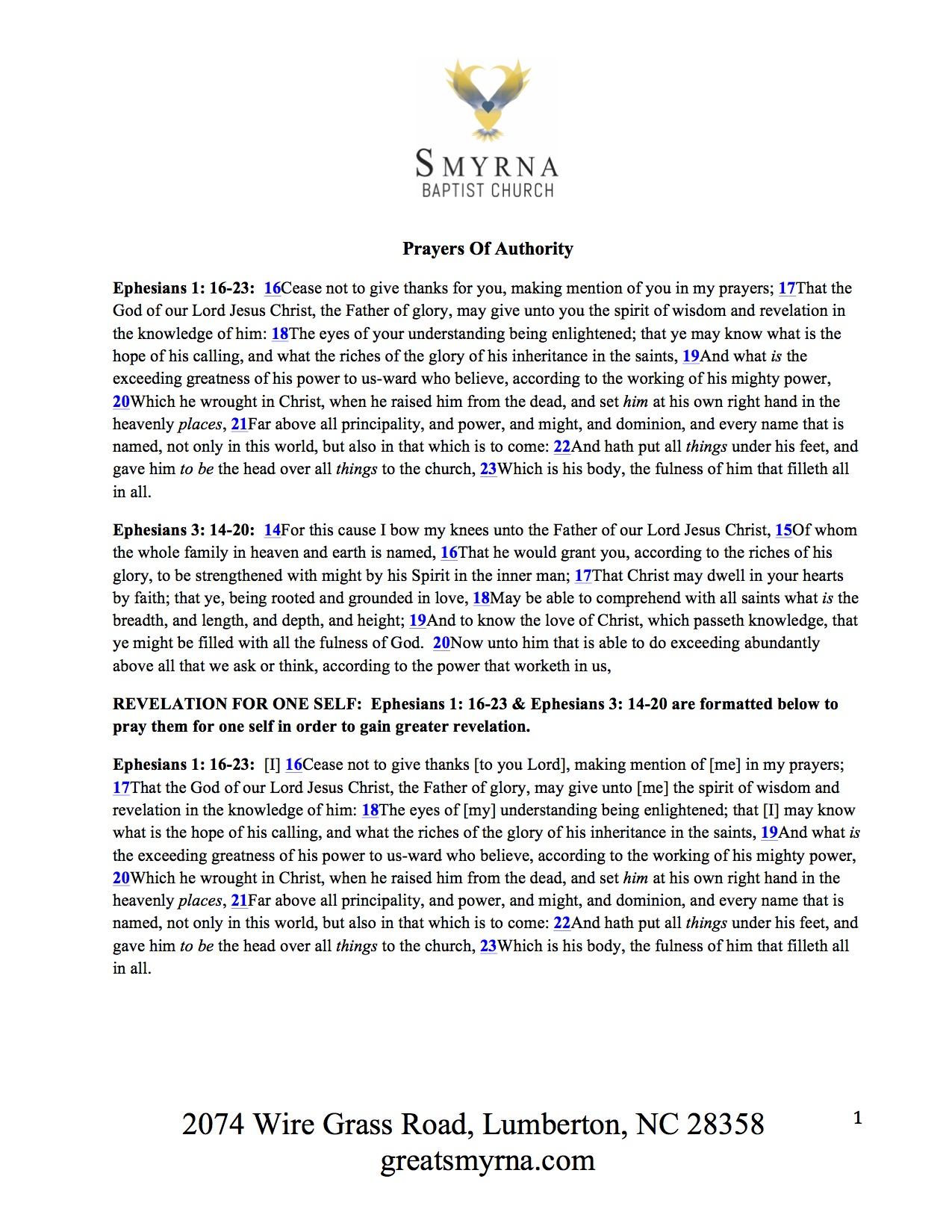 Love Opens The Way - Smyrna Baptist ChurchSmyrna Baptist Church