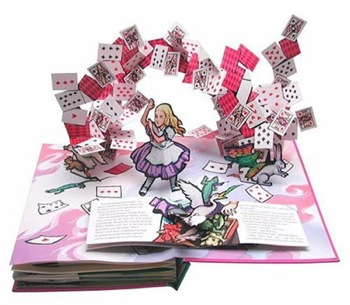 types of books with pictures: pop-up book
